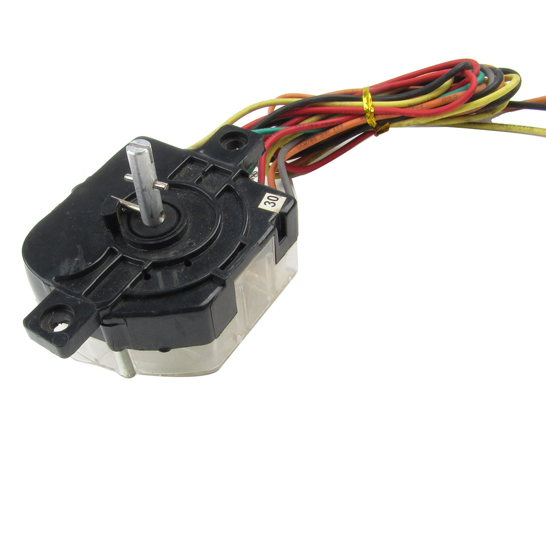 AC 7A 110V 3.5A220VAC 7 Wires Black Controller Timer for Washing Machine