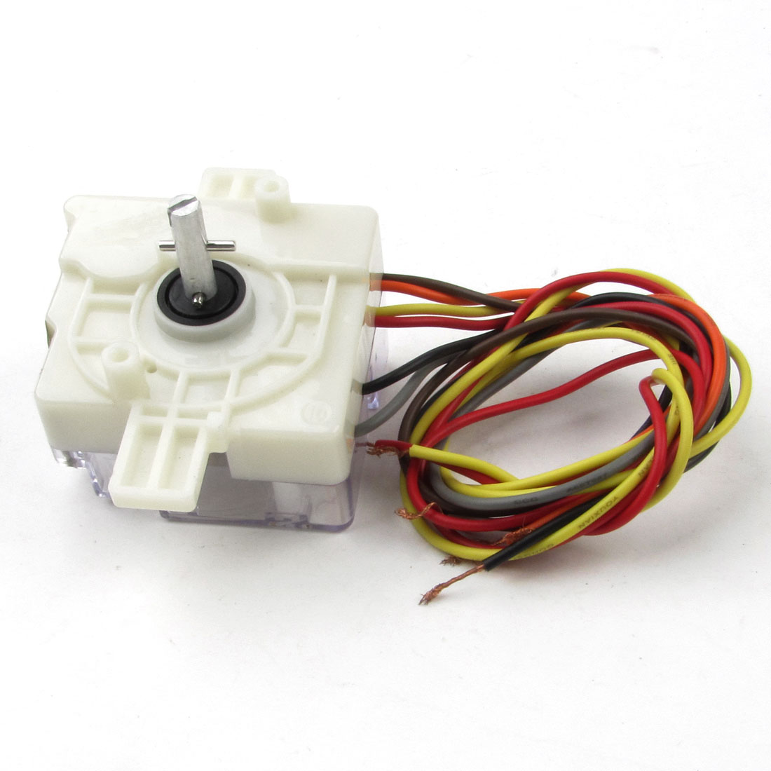 Off White WEILI Washing Machine Parts 6 Wires Timer Time Controller AC 250V 3A
