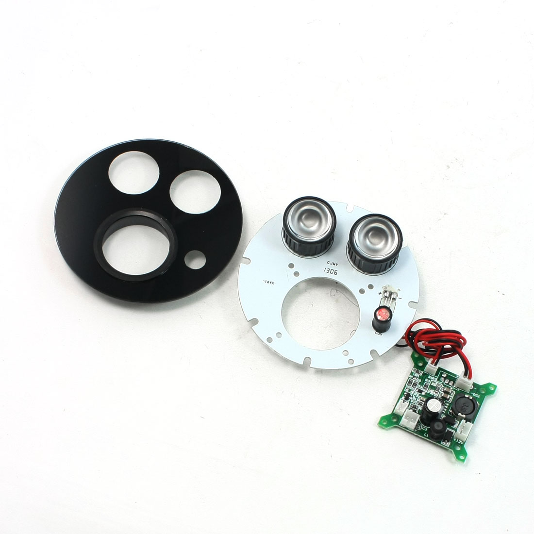 Security Camera 80 Degree 2-LED Infrared IR Board Plate