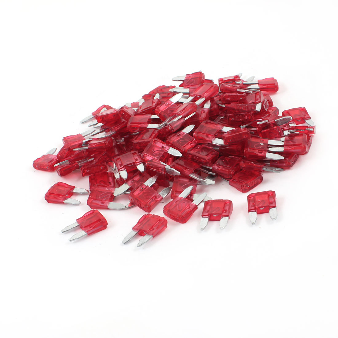 Automotive Car Small Size Blade Fuse 10A Red Auto Fuses 200 Pcs