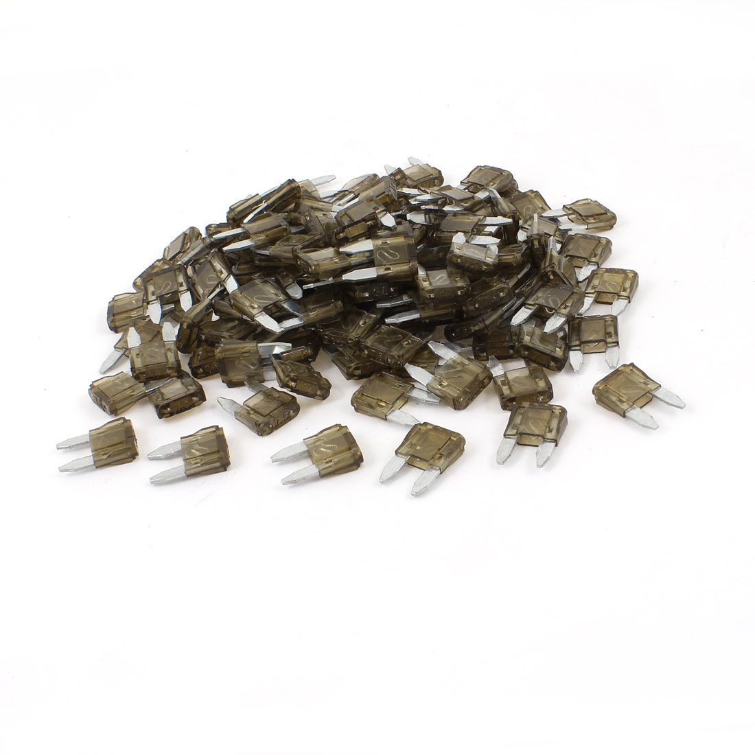200 Pcs 7.5A Small Size Blade Fuses Coffee Color for Vehicle Car Auto