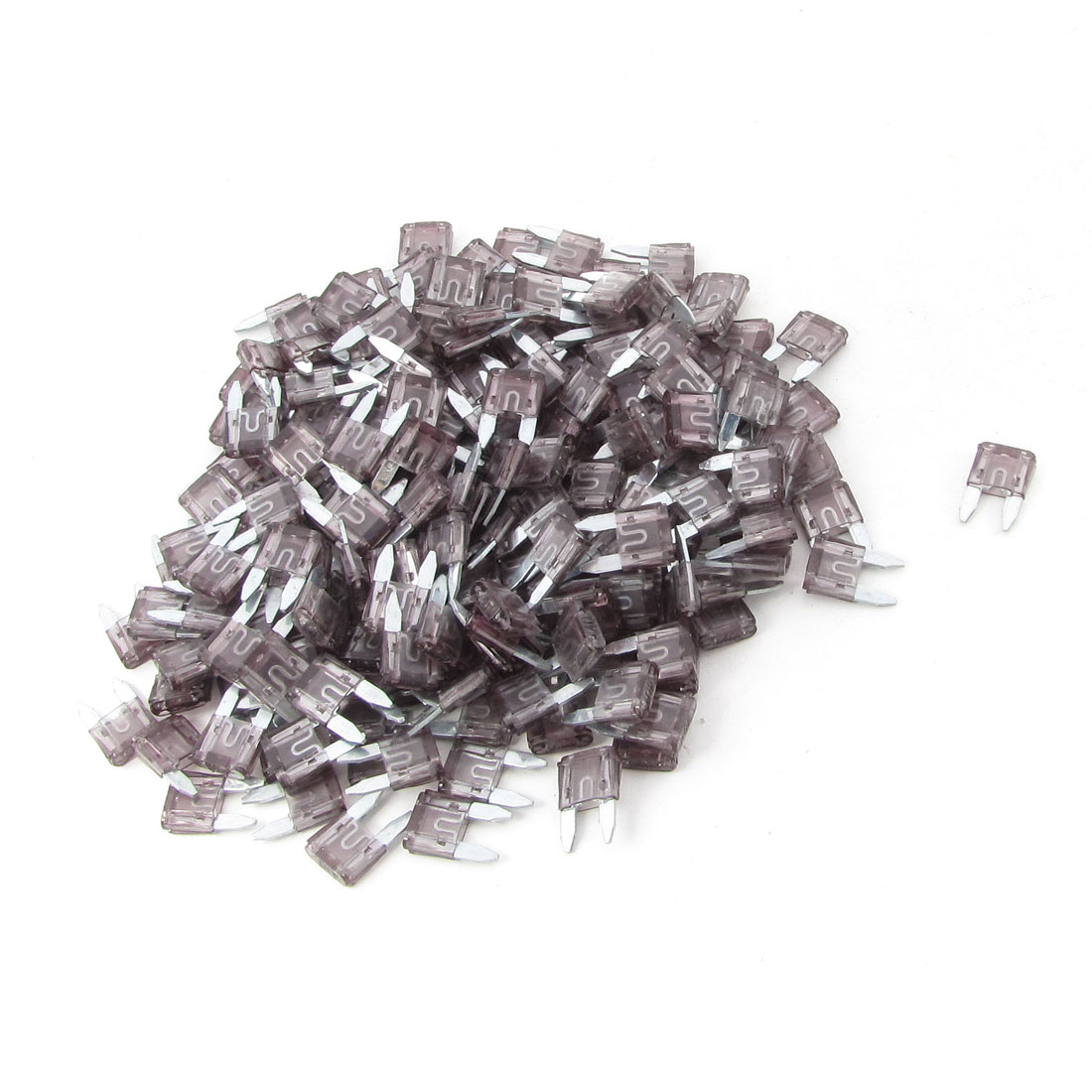 Automotive Car Small Size Blade Fuse 40A Pale Gray Auto Fuses 200 Pcs