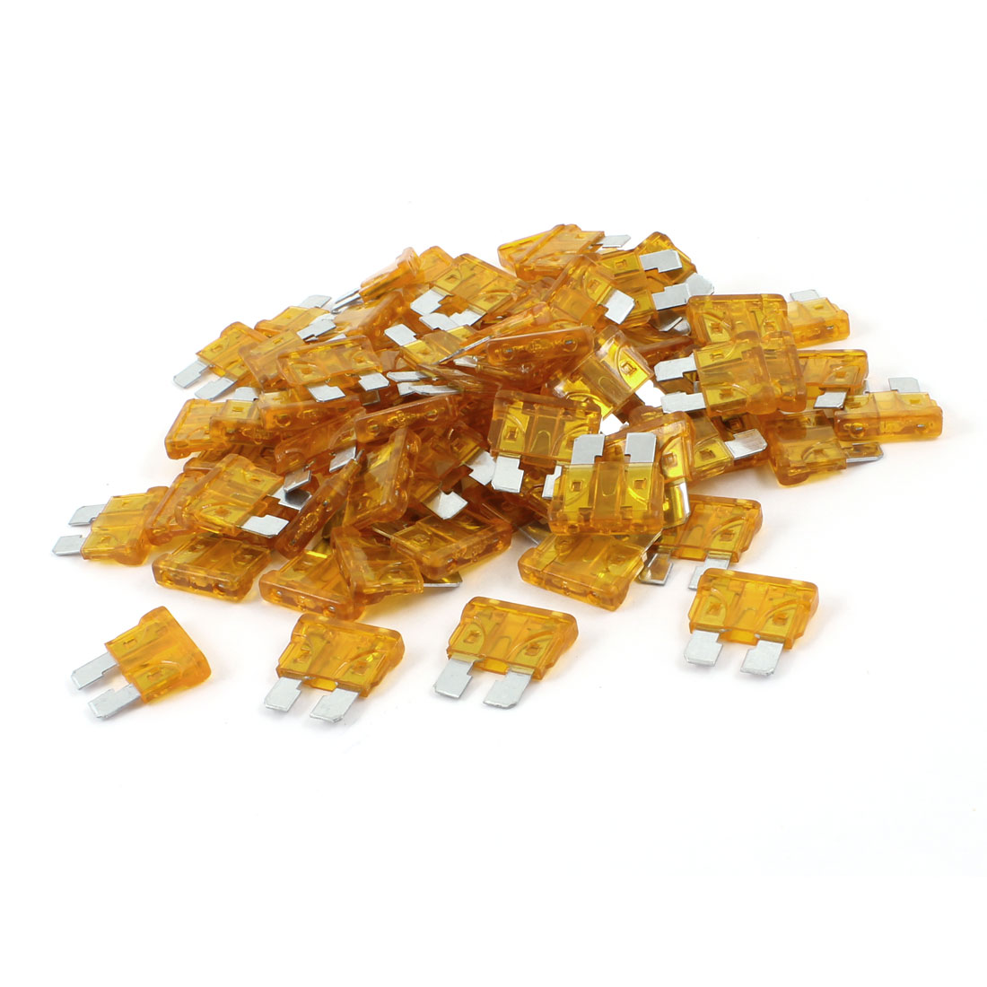 5A Orange Medium Car Blade Fuses Auto Assortment Kit 100pcs