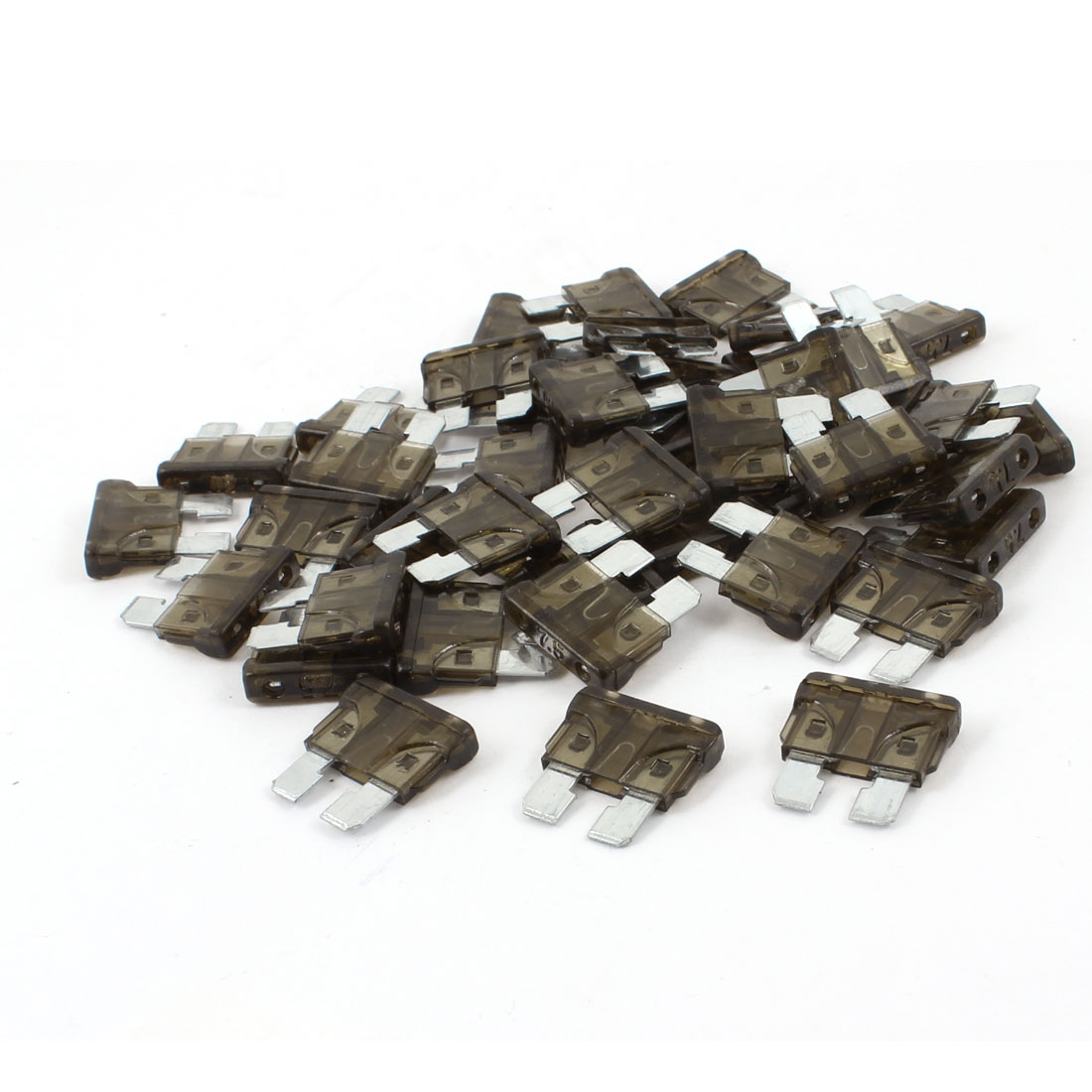 60 Pcs 7.5A Blade Fuses Coffee Color for Vehicle Car Auto