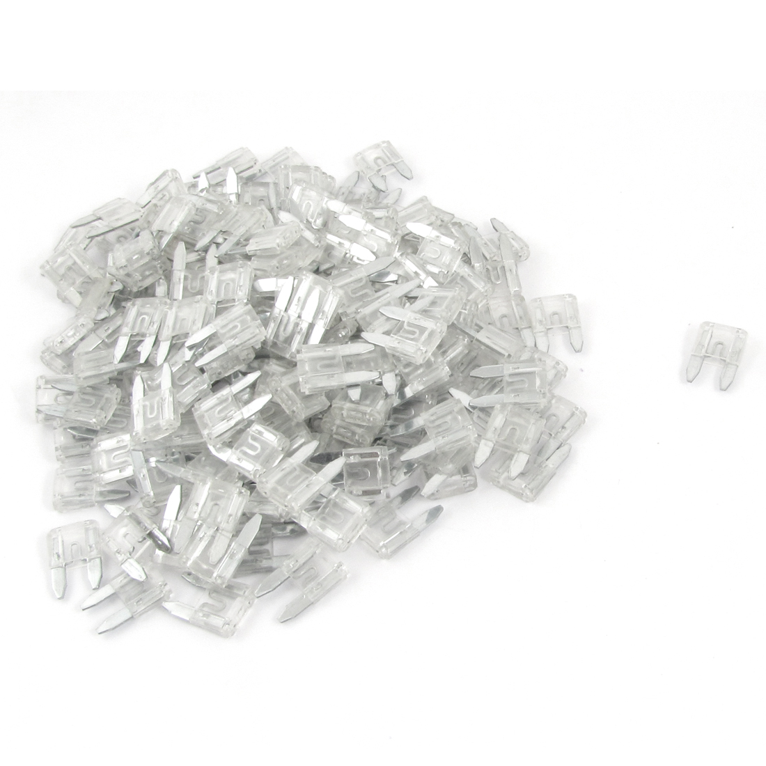 Automotive Car Mini Blade Fuse 25A Clear Auto Fuses 200 Pcs
