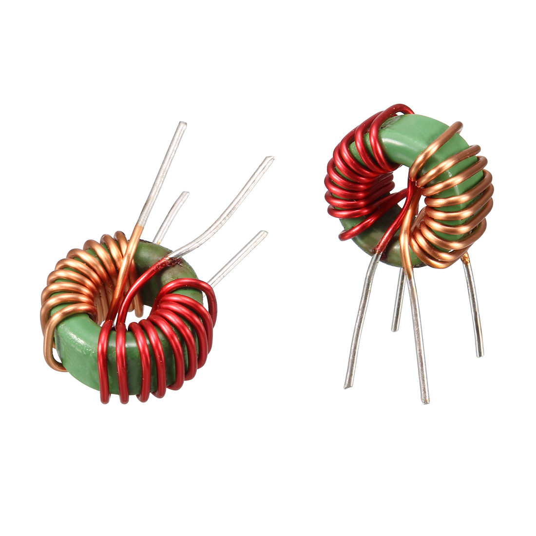 10 Pcs Toroid Core Common Mode Inductor Choke 800UH-1MH 40mOhm 5A Coil
