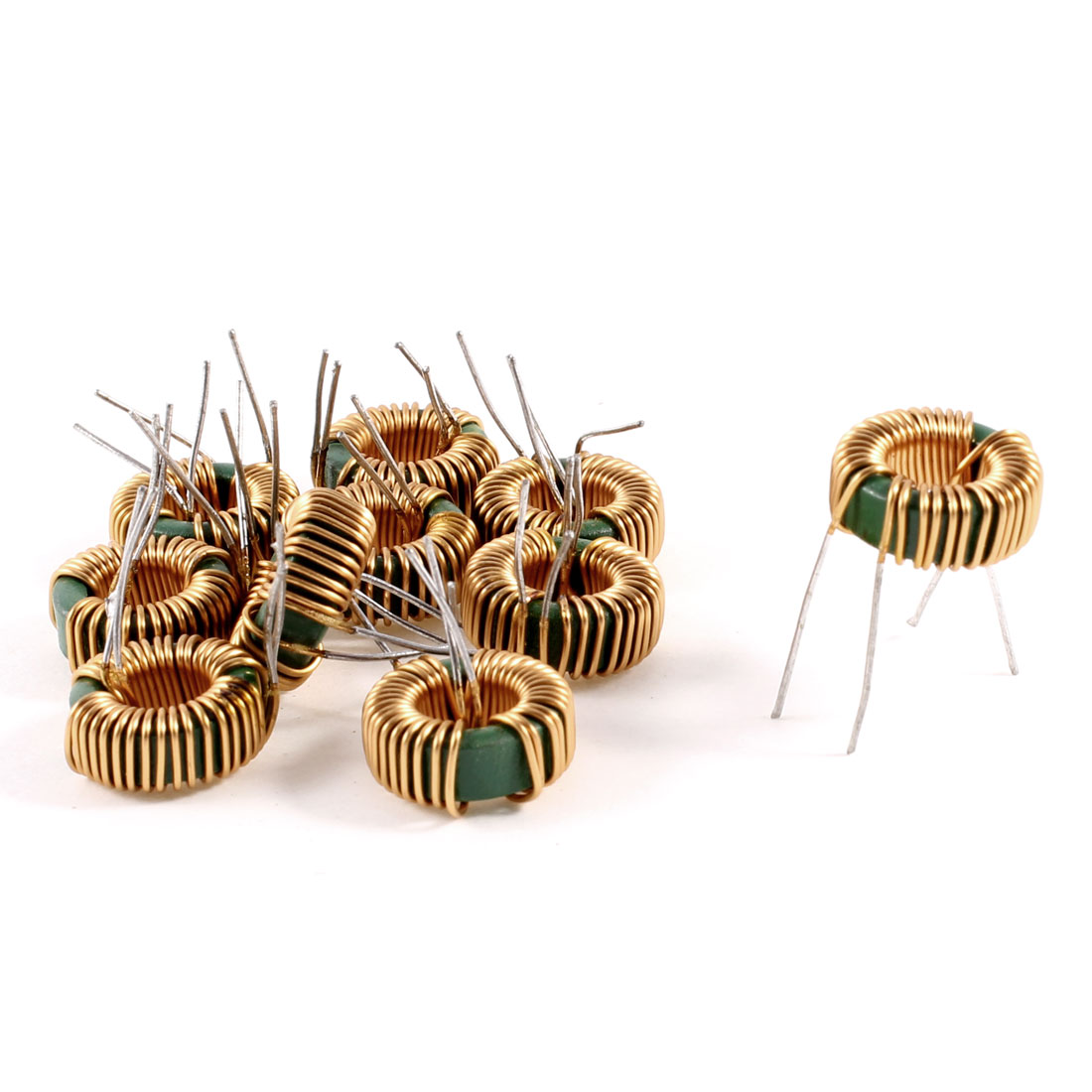 10 Pcs Toroid Core Common Mode Inductor Choke 1.2MH 40mOhm 2A Coil