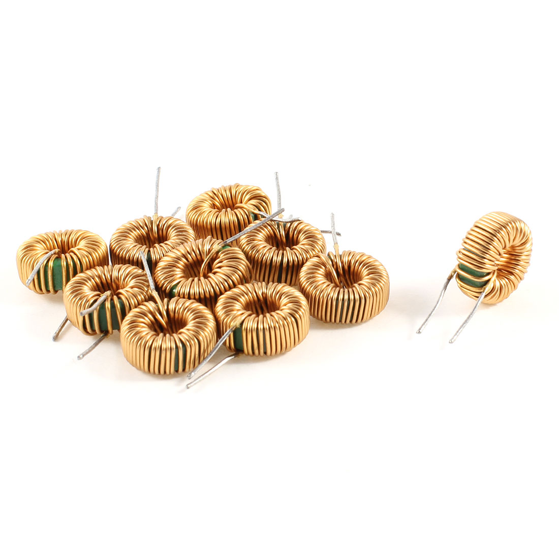 10 Pcs Toroid Core Inductor Wire Wind Wound 10MH 40mOhm 2A Coil