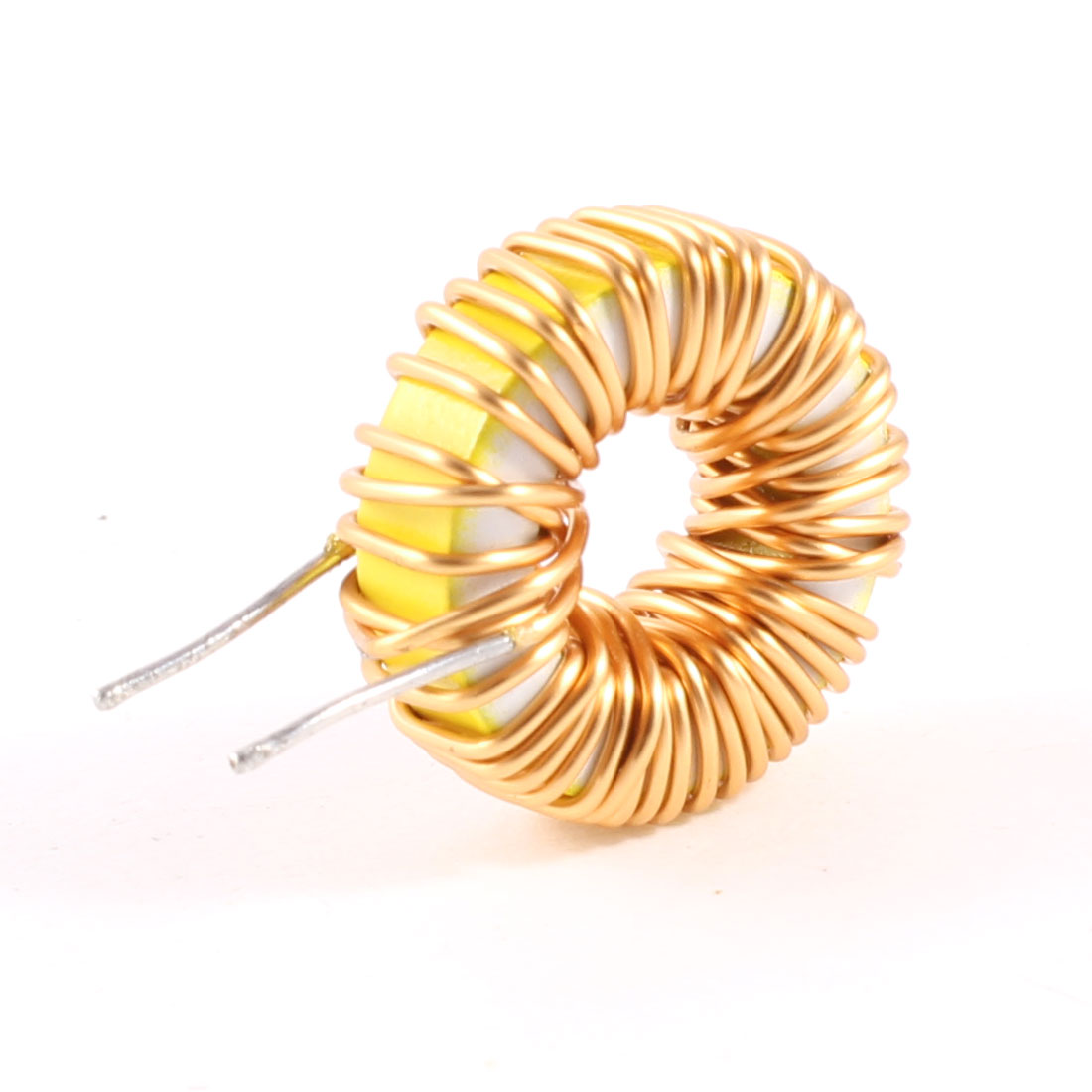 Toroid Core Inductor Wire Wind Wound 100uH 33mOhm 5A Coil