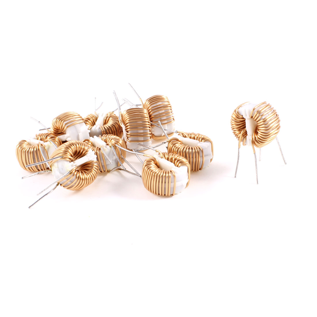 10 Pcs Toroid Core Common Mode Inductor Choke 1.5MH 50mOhm 1.5A Coil