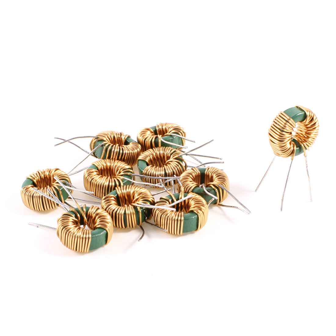 10 Pcs Toroid Core Common Mode Inductor Choke 2MH 30mOhm 2A Coil