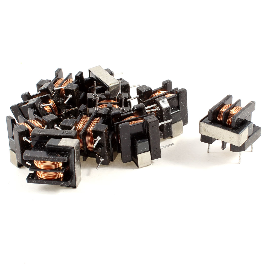 10 Pcs UF10.5 Common Mode Line Filter Inductor 15MH 0.5Ohm 3A Coil