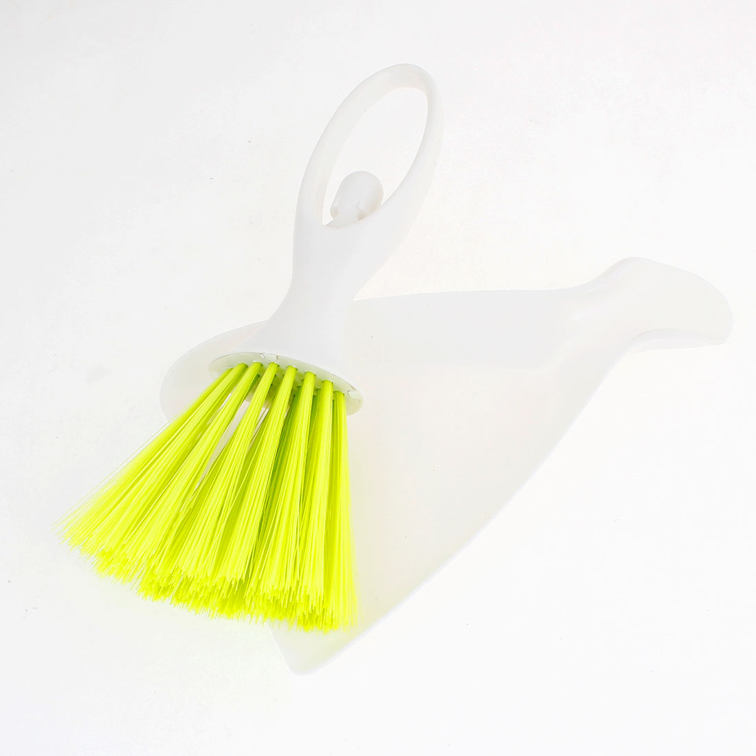 Vehicle Car Dashboard Air Flow Vent Brush Cleaning Tool White Yellow Green