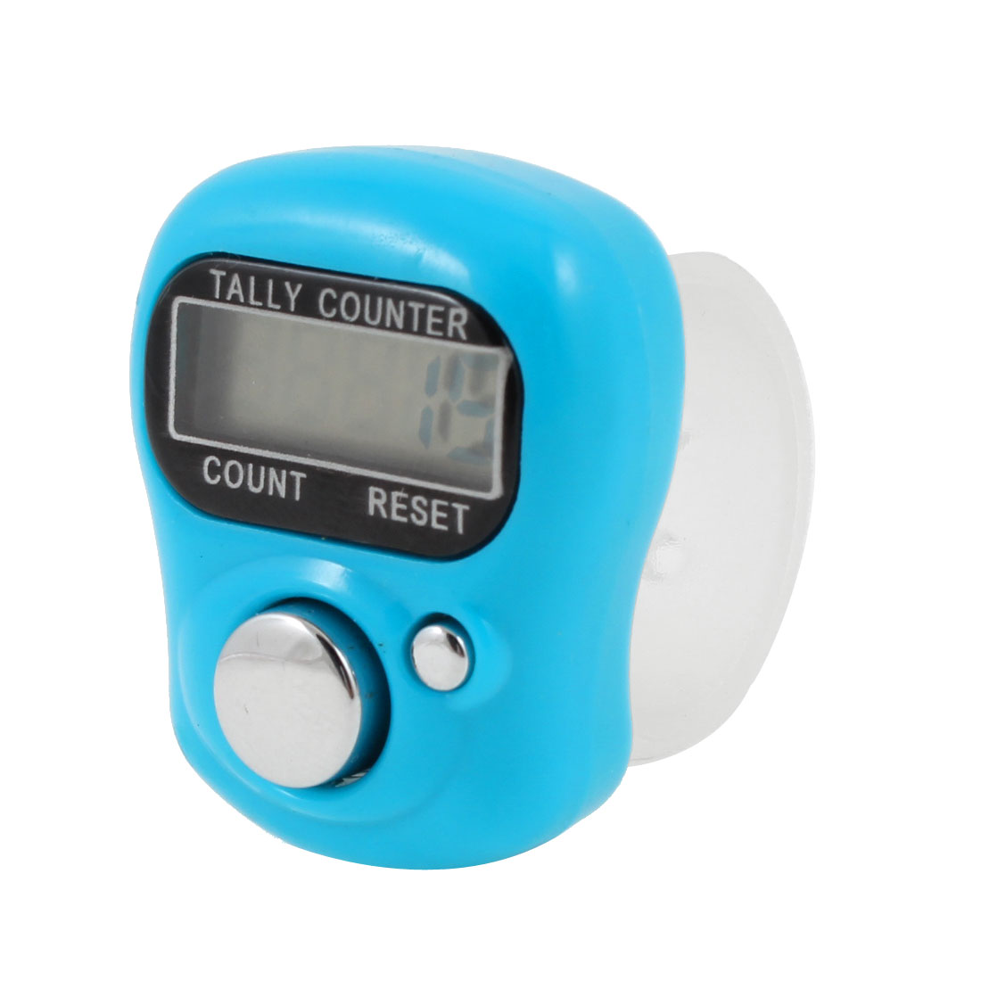 Adjustable Strap 0-99999 Bold Digital Finger Counter Blue