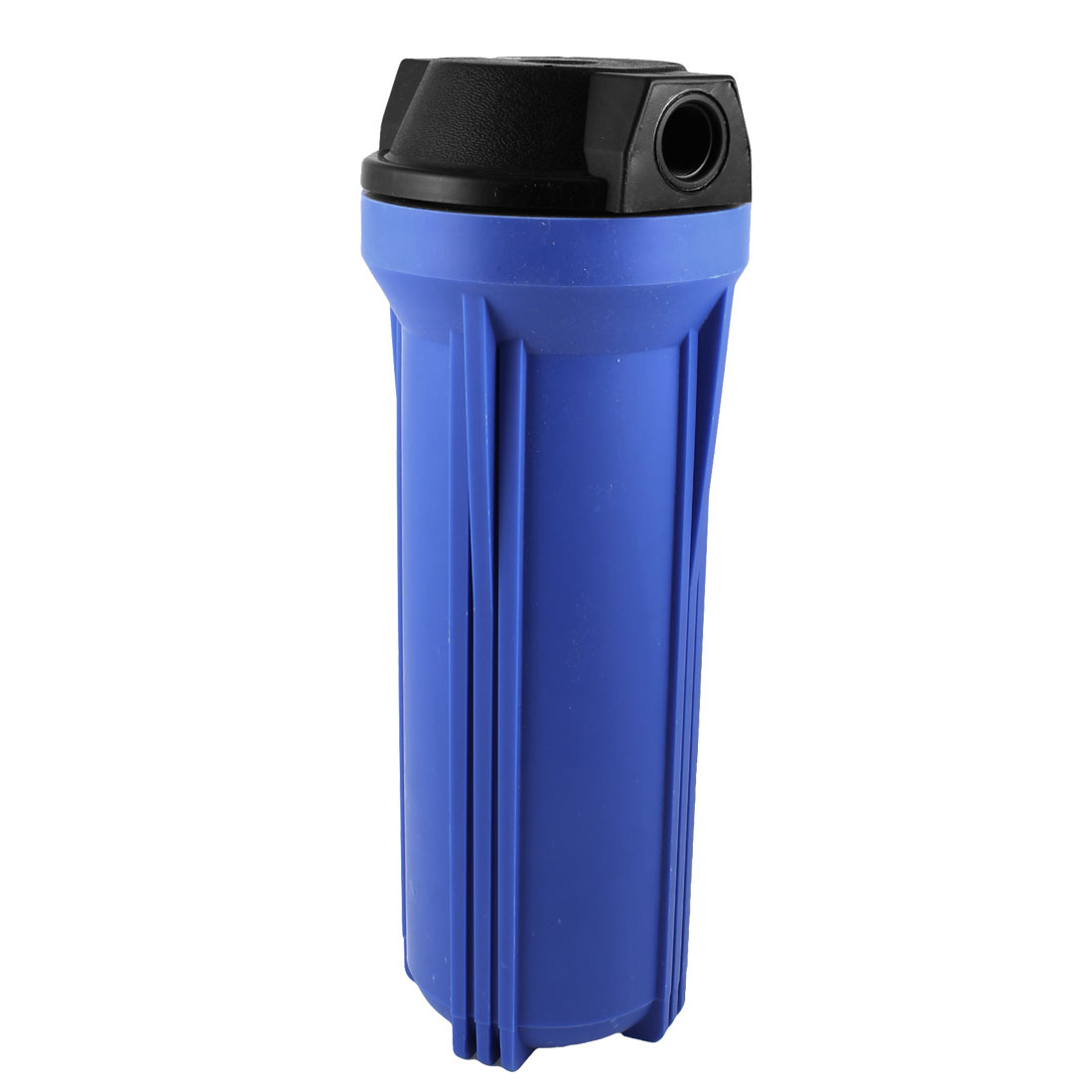 Fish Tank Aquarium Water Cleaning Cylinder Plastic Filter Black Blue w Wrench