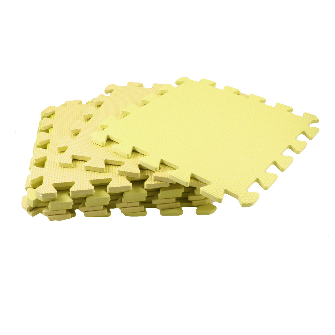 9 Pcs Yellow Foam Sponge Water Absorbent Front Door Floor Pad