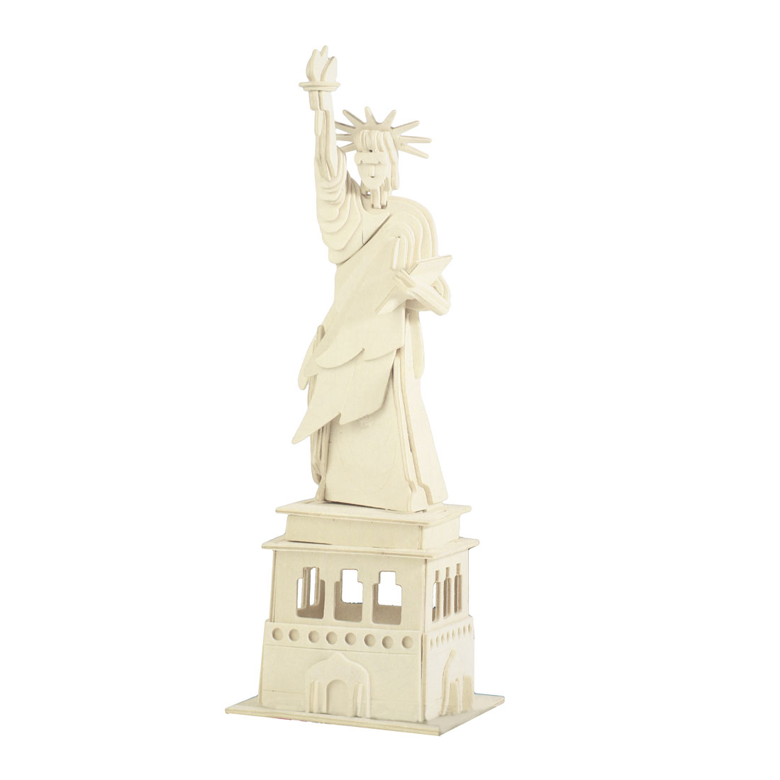 The Statue of Liberty Model Creative Wooden Puzzle Toy