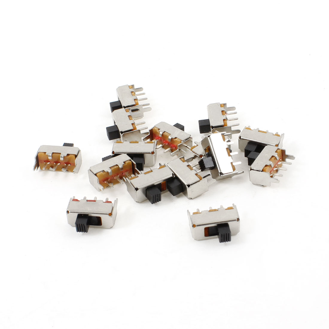 5A/110V 3A/220V AC Short Hinge Lever Actuator Miniature Micro Switch 15 Pcs