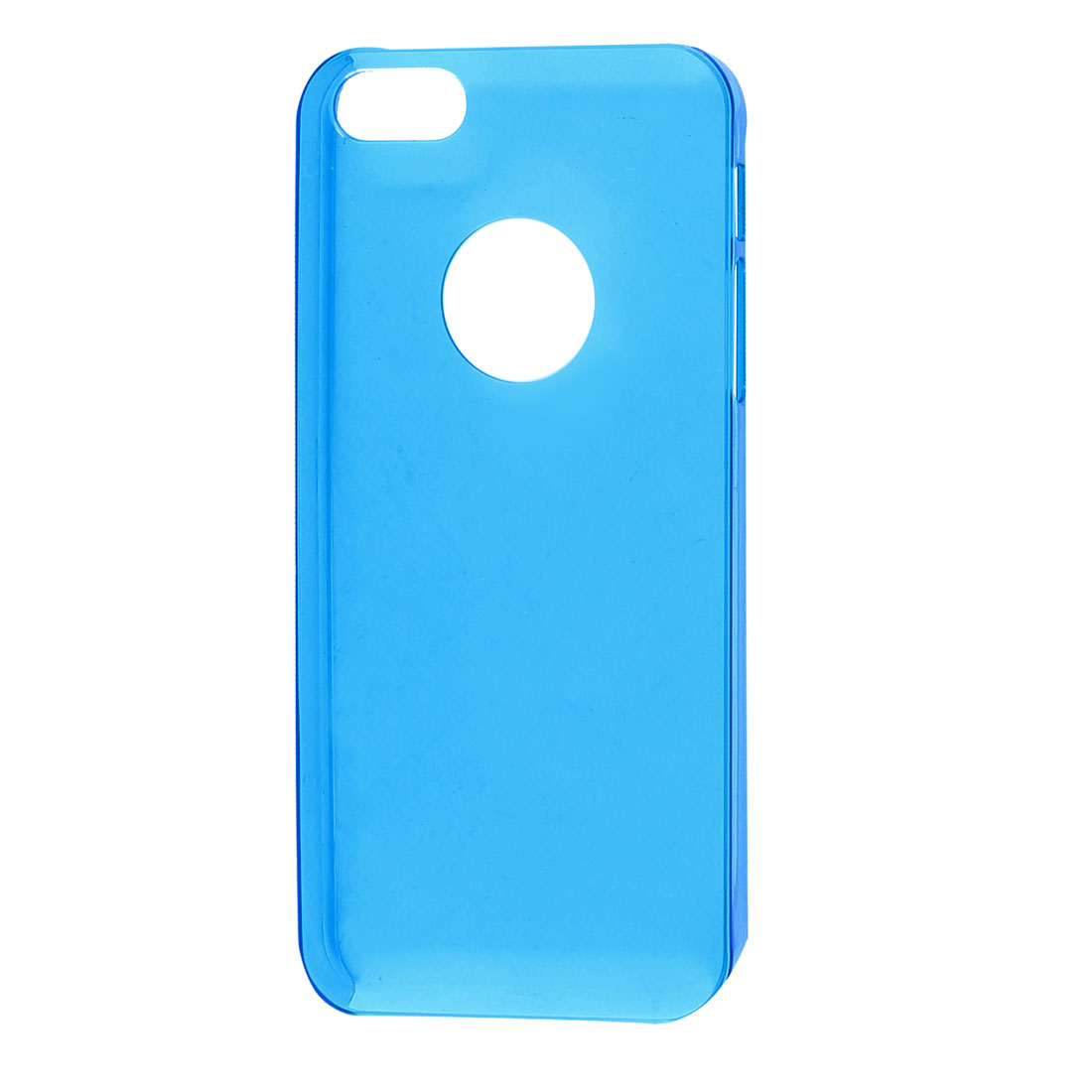 Solid Blue Plastic Protector Case Cover for iPhone 5 5G