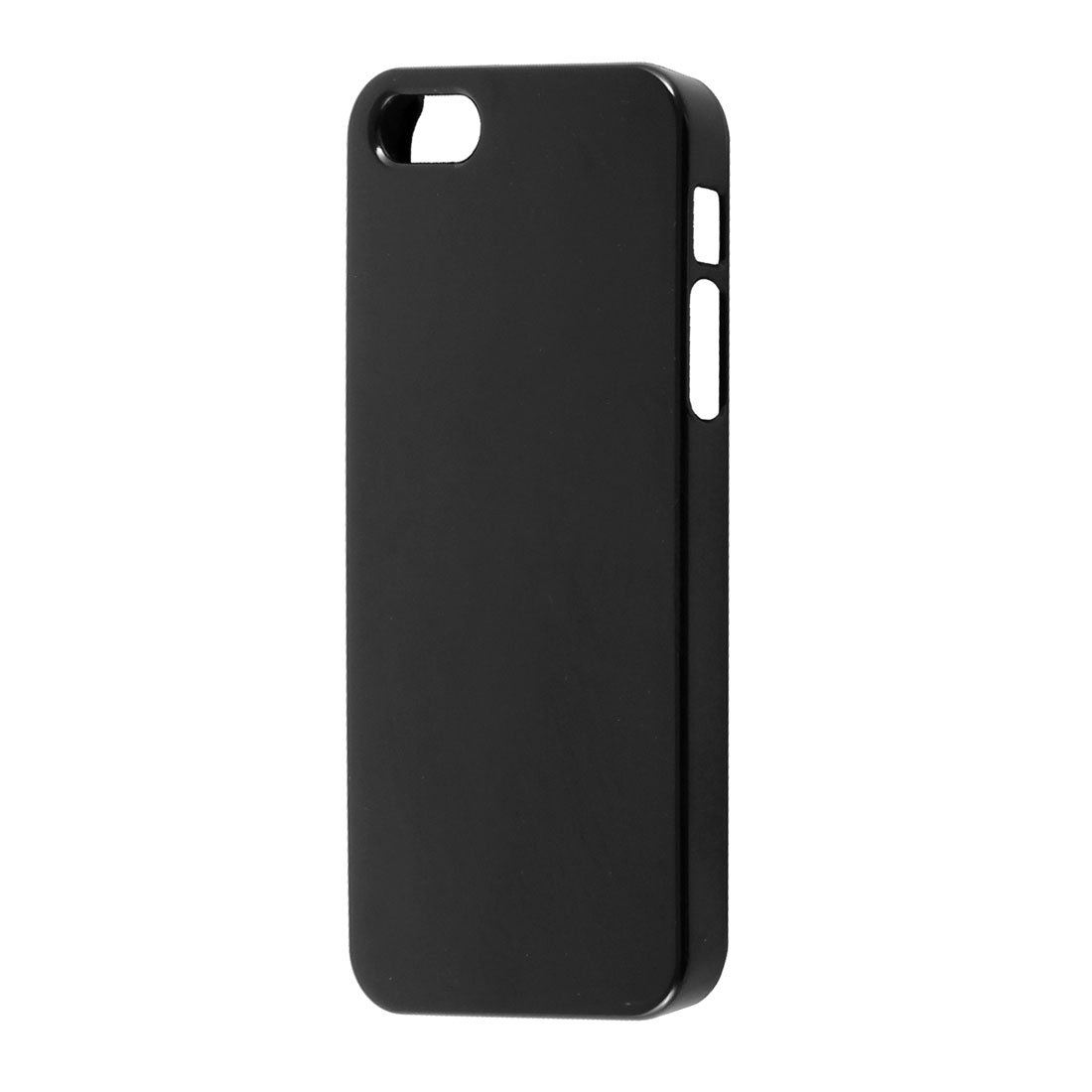 Solid Black Plastic Protector Case Cover for iPhone 5 5G
