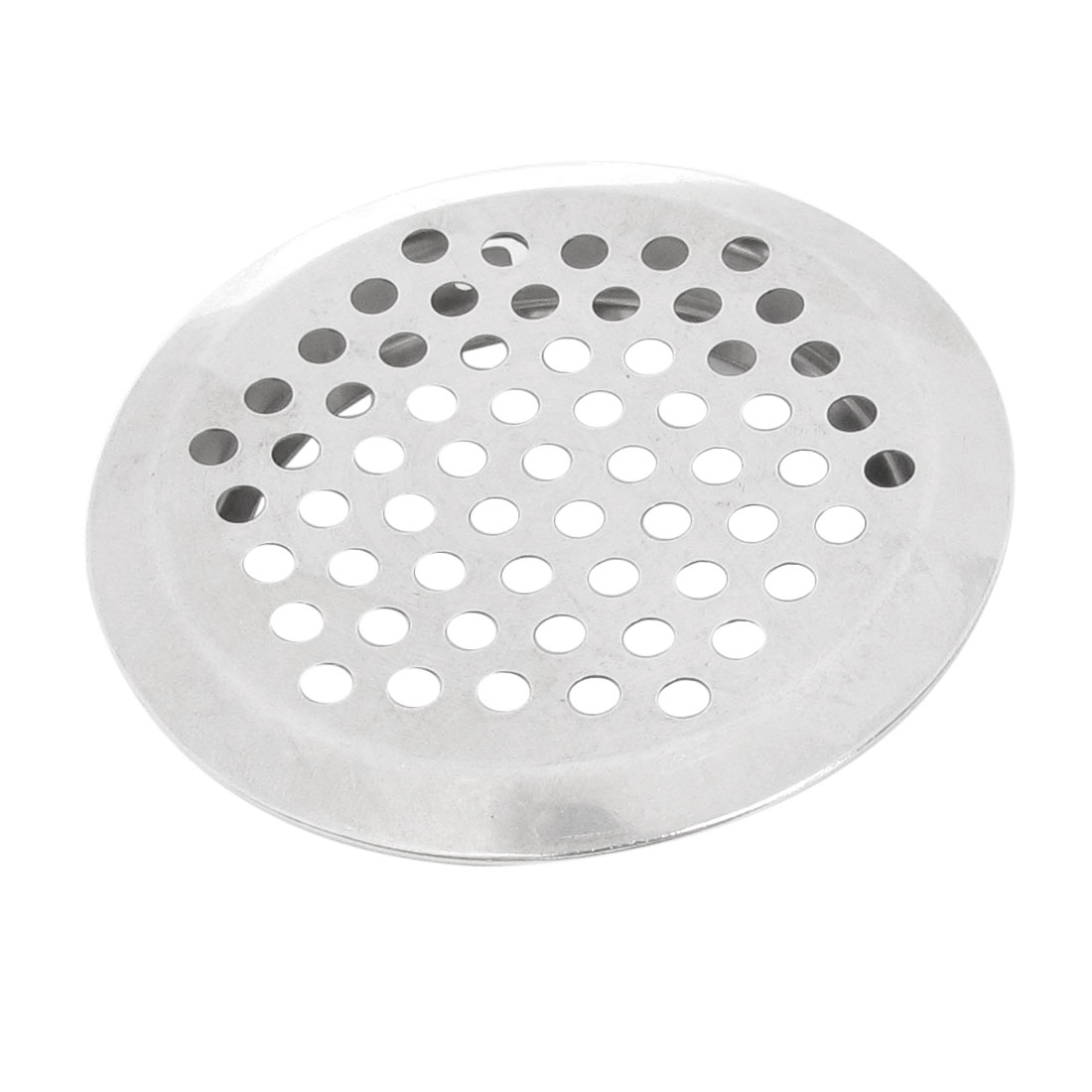 Kitchen 64mm Dia Stainless Steel Perforated Round Air Vent Louver