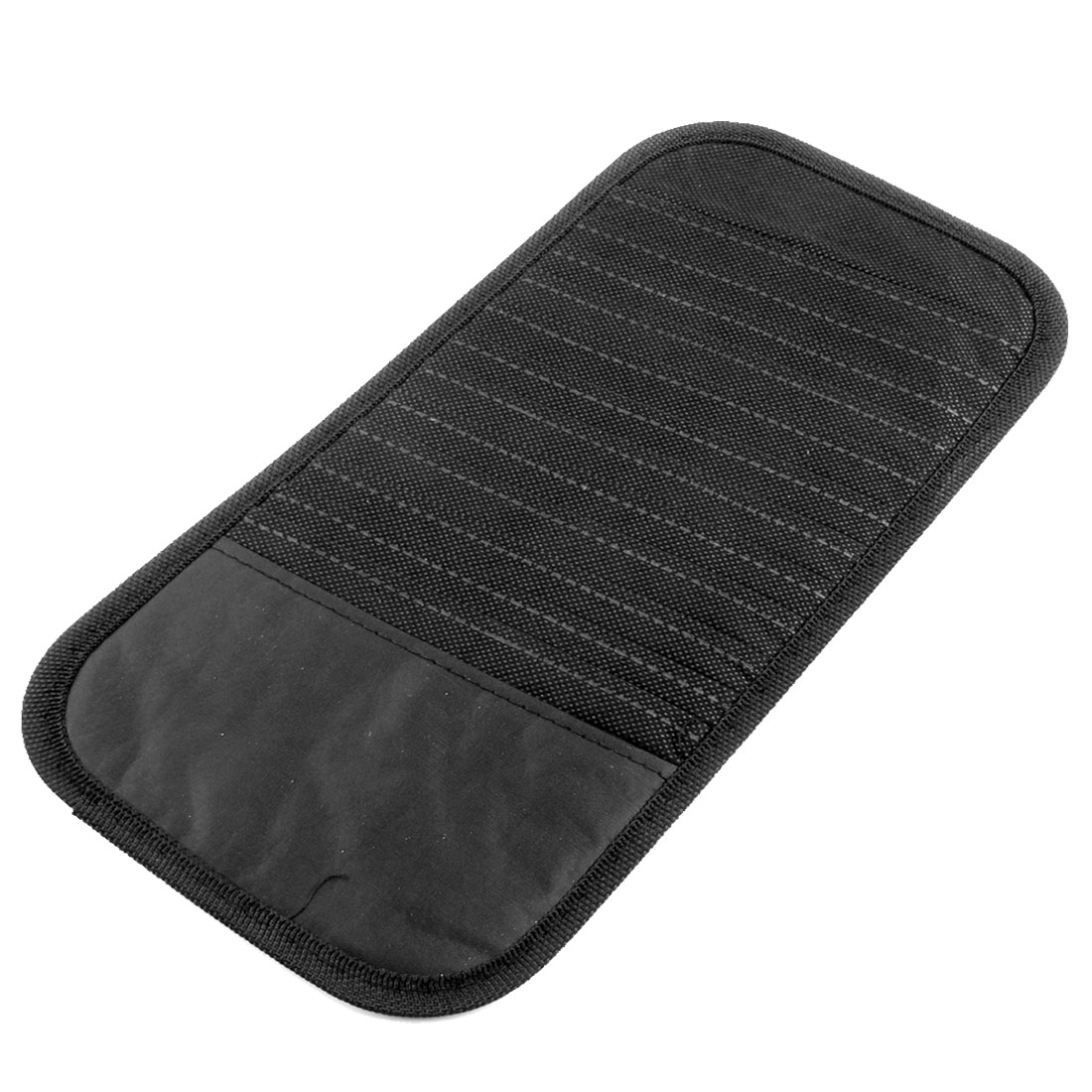 Vehicles Black Nylon 12 Pieces Car Visor CD DVD Disk Card Case Pouch