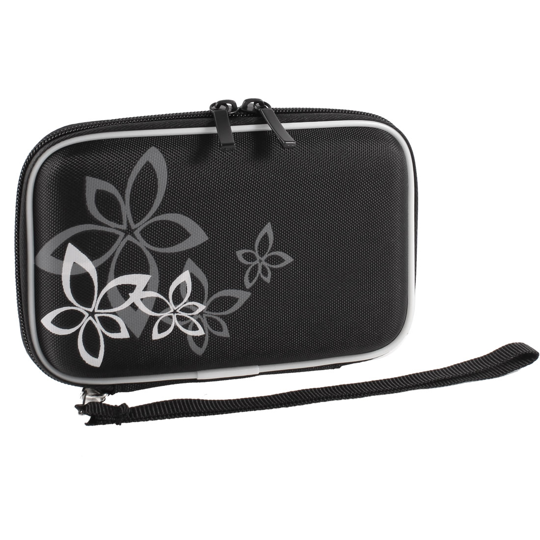 "Black EVA Protect Case Bag Pouch Zipper Closure for 2.5"" HDD Hard Drive Disk"