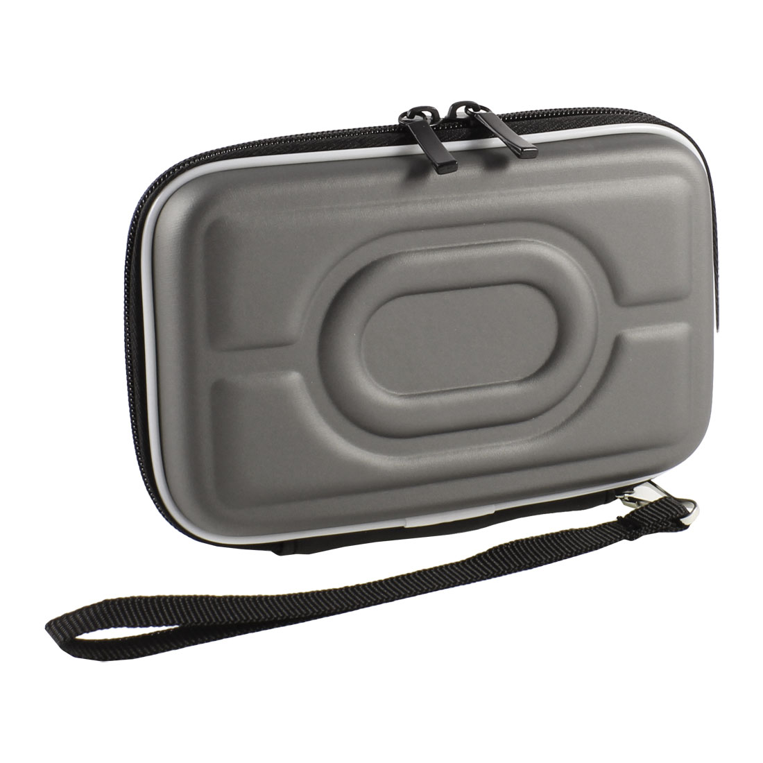 "Zip-up EVA Carrying Case Sleeve Bag Pouch Gray for 2.5"" HDD Hard Drive Disk"