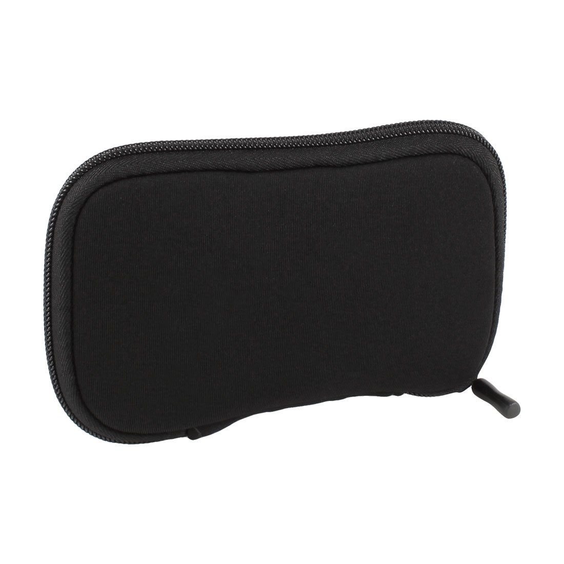 "Zip-up Neoprene Sleeve Bag Pouch Carry Case Black for 2.5"" HDD Hard Drive Disk"
