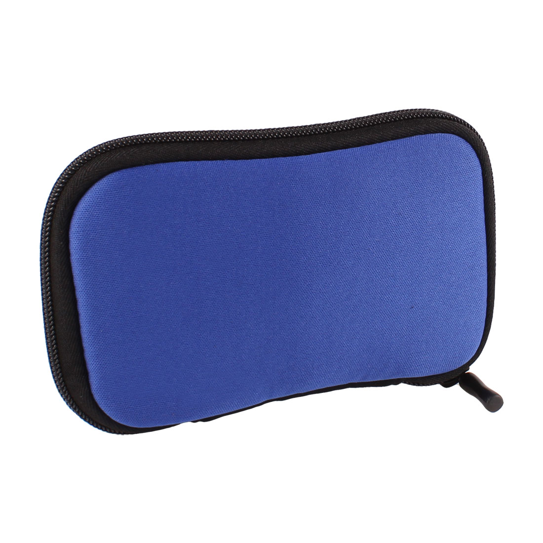 "2.5"" HDD Hard Drive Disk Zip-up Neoprene Sleeve Bag Pouch Carry Case Royal Blue"