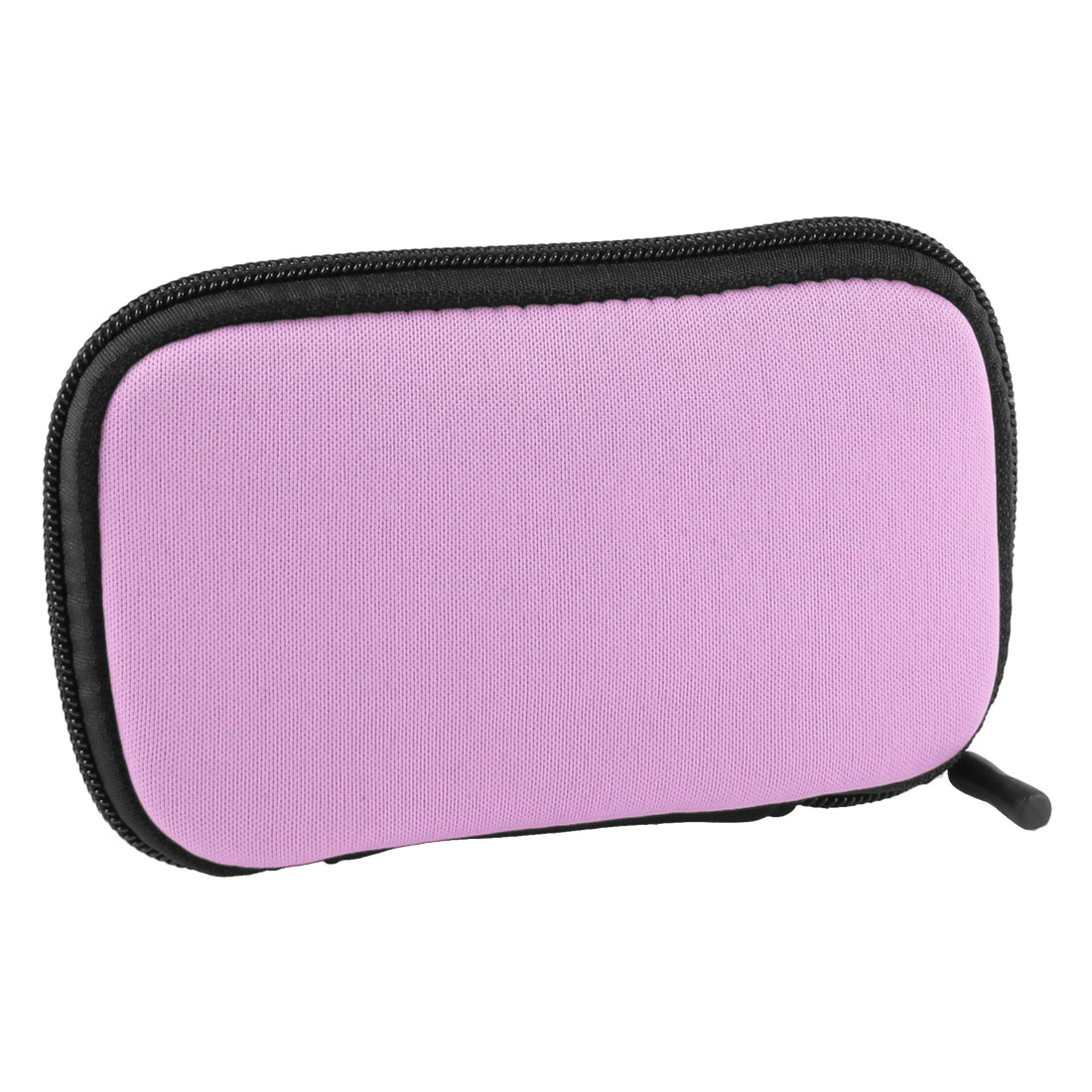 "Zip-up Neoprene Sleeve Bag Pouch Carry Case Pink for 2.5"" HDD Hard Drive Disk"
