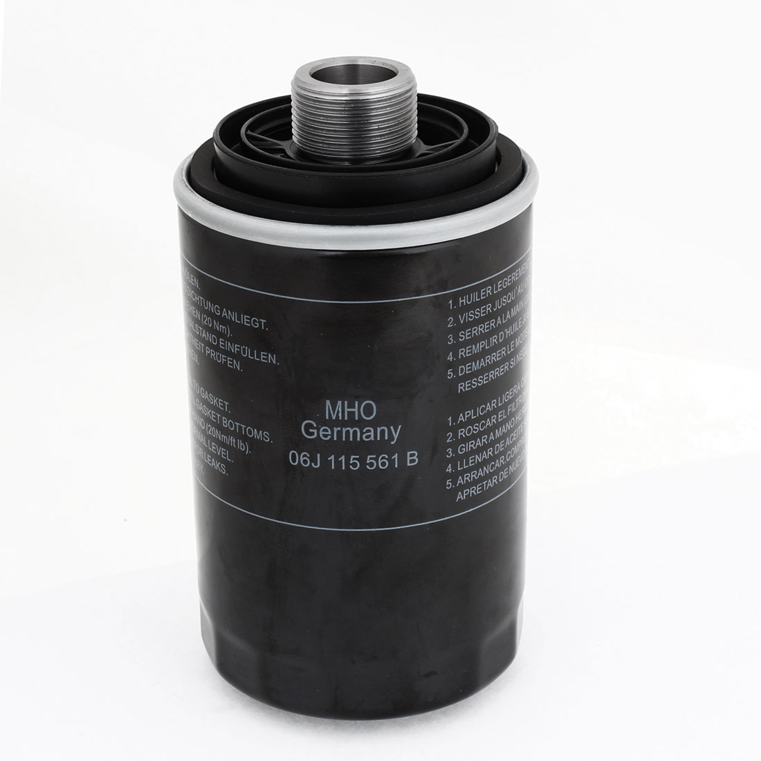 Metal Shell Cylinder Shaped Oil Filter for Auto Car 06J 115 403C
