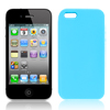 Pure Sky Blue Soft Silicone Phone Case Shield Cover for Apple iPhone 5 5G