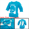 Kids Fashion NEW Pullover Cartoon Sweatshirt Turquoise 12 Month