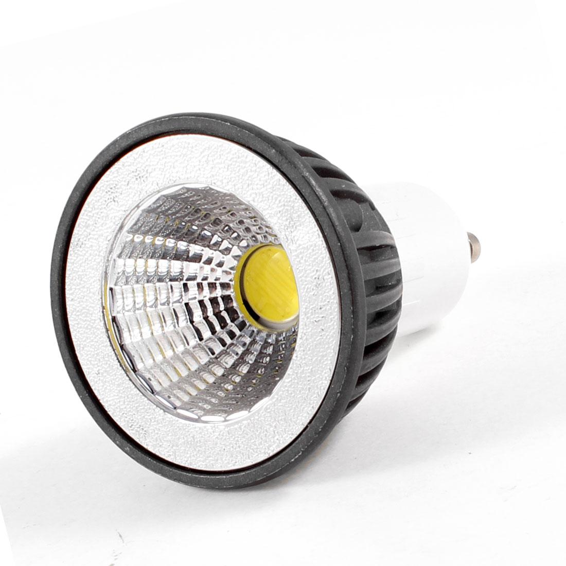 GU10 Socket LED Light Lamp Spotlight COB Cup AC 220V 5W