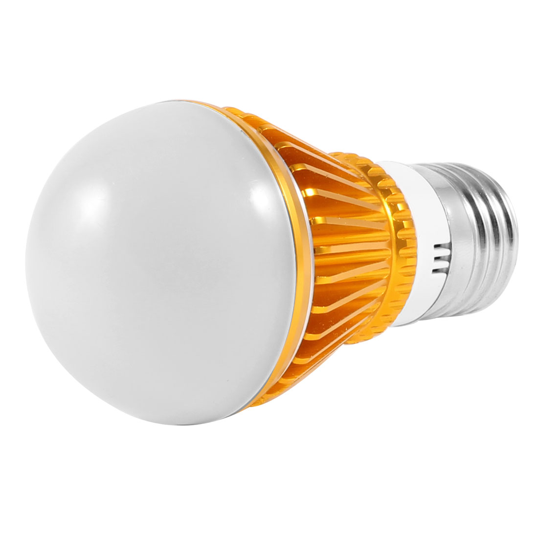 "Indoor Home 3W 220V E27 Socket Warm White LED Globe Ball Bulb 2"" Dia"