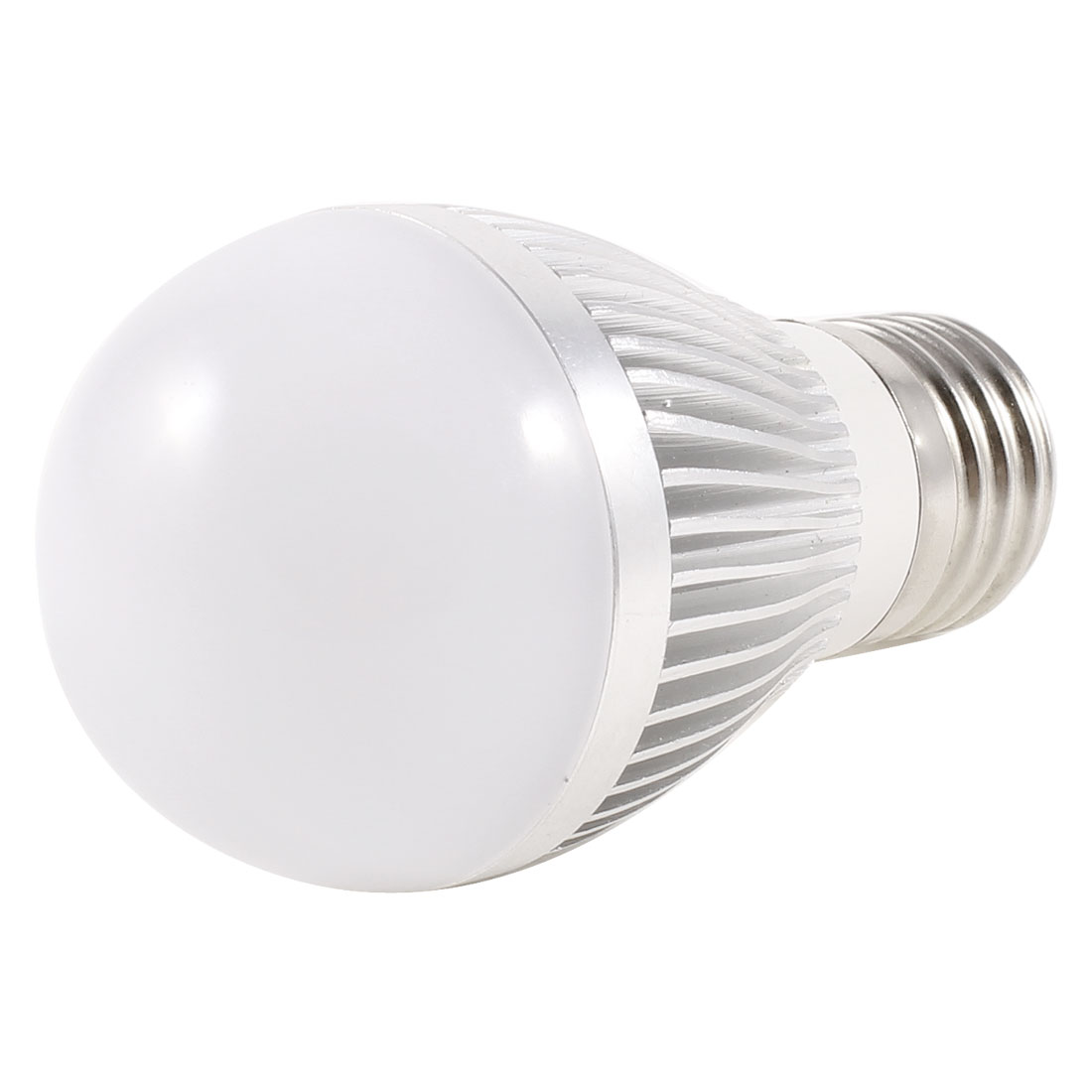 Bathroom 3W 220V E27 Socket White LED Globe Ball Bulb 50mm Dia