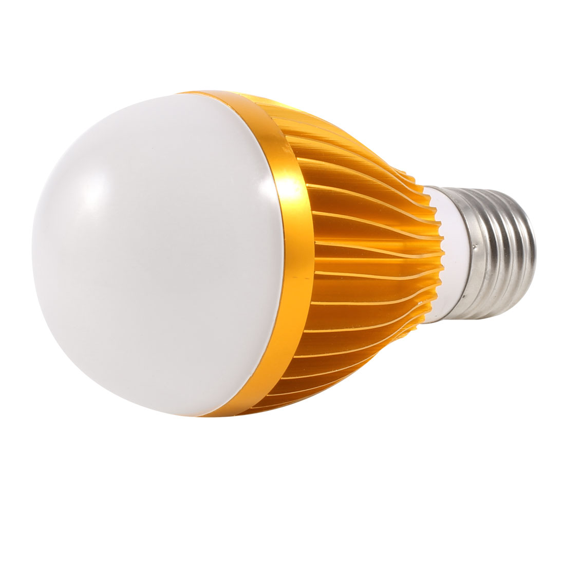 E27 Screw Base Energy Saving White LED Ball Bulb Lamp Light AC 220V 5W