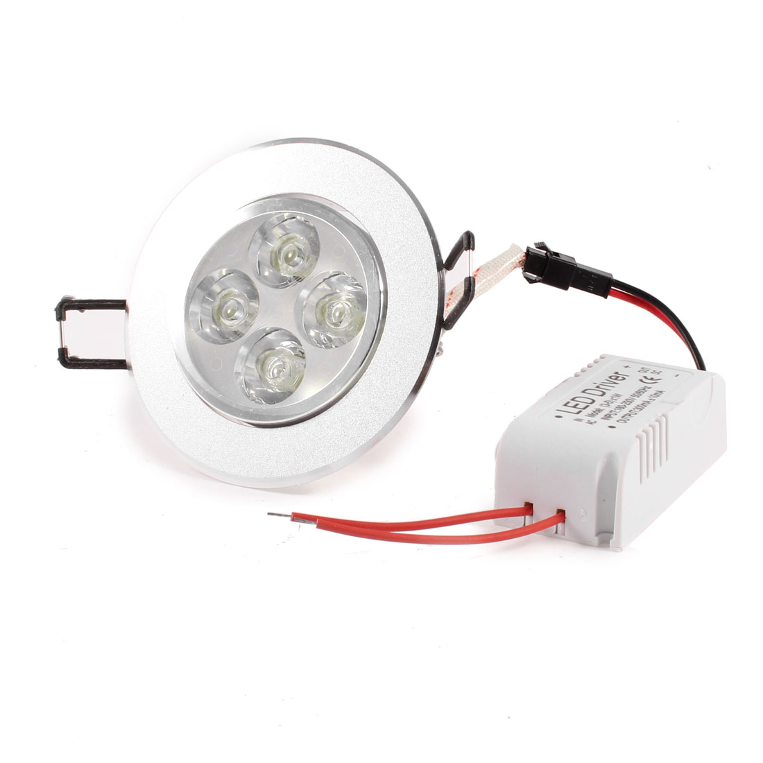 180V-250V 4x1W 4W Recessed Ceiling Downlight Warm White Bulb Light w LED Driver