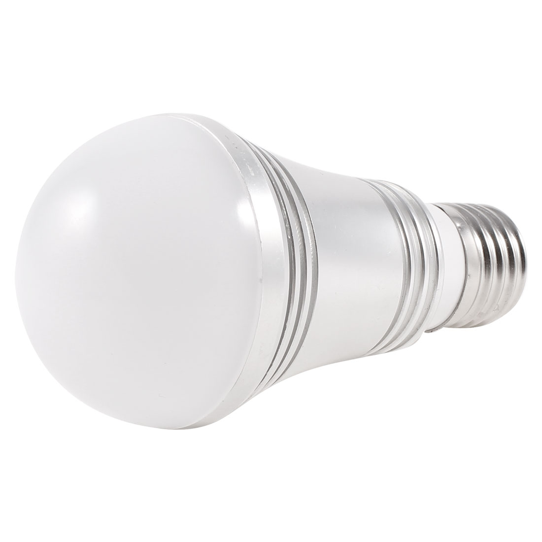 "Indoor Bedroom 7W 220V E27 Socket White LED Globe Ball Bulb 2.2"" Dia"