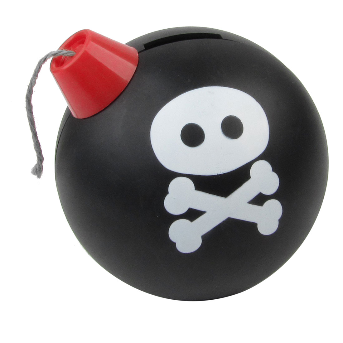 Tricolor Plastic Skull Pattern Bomb Typed Electronic Piggy Bank Gift for Kid