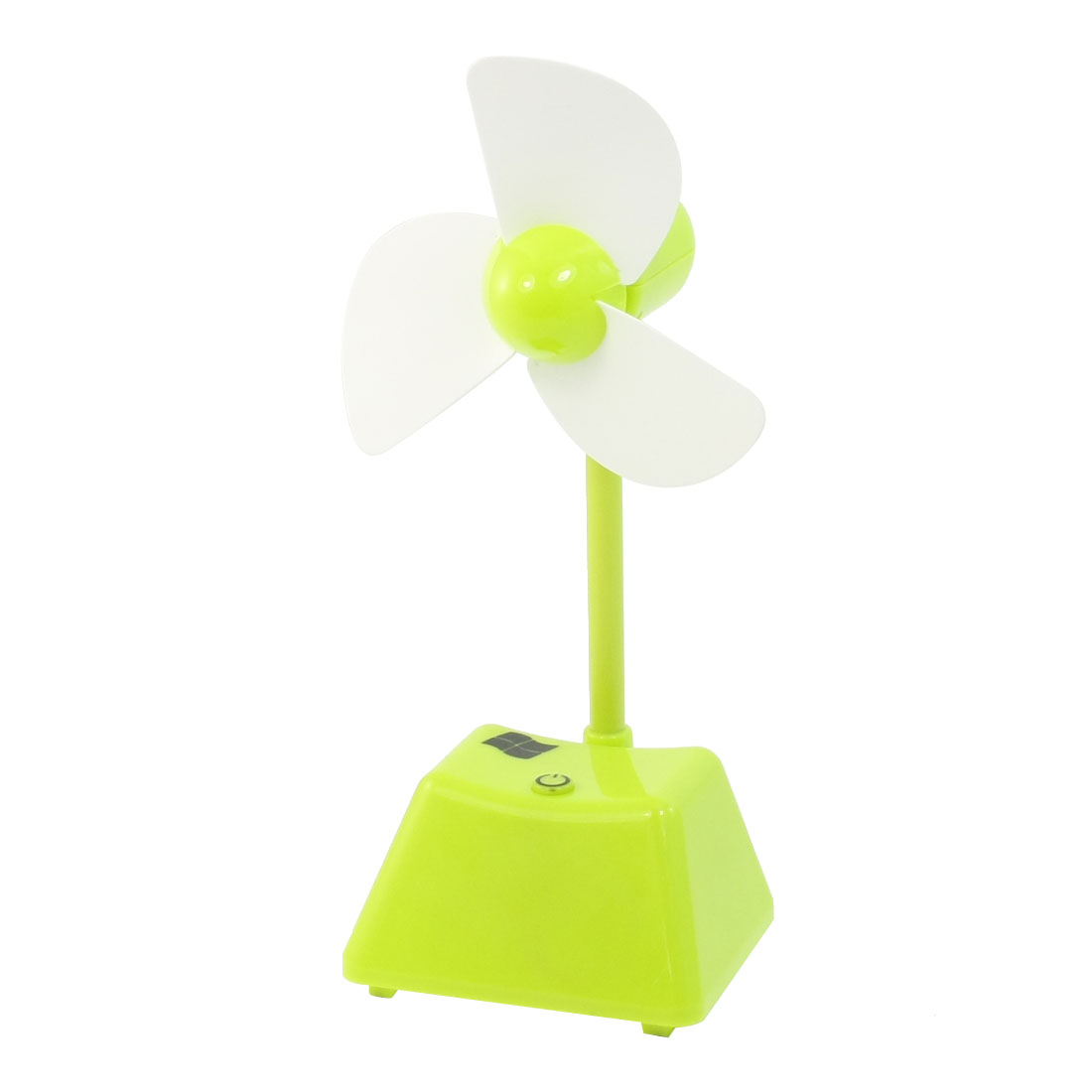 Computer Laptop White Foam Blades Mini USB Cooling Fan Green