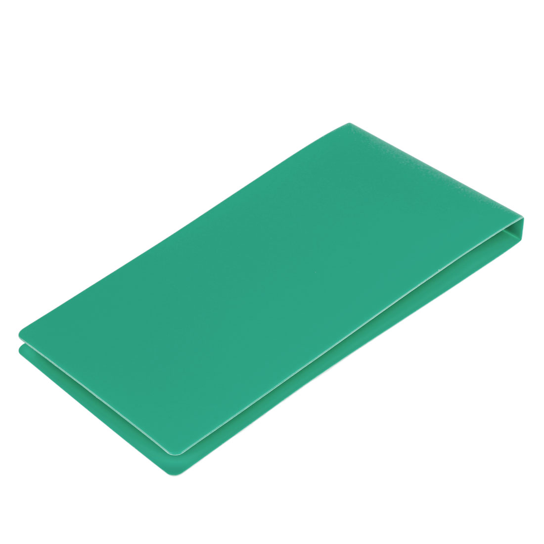 Office School Green Plastic Cover A5 Paper Document Invoice Bill Folder
