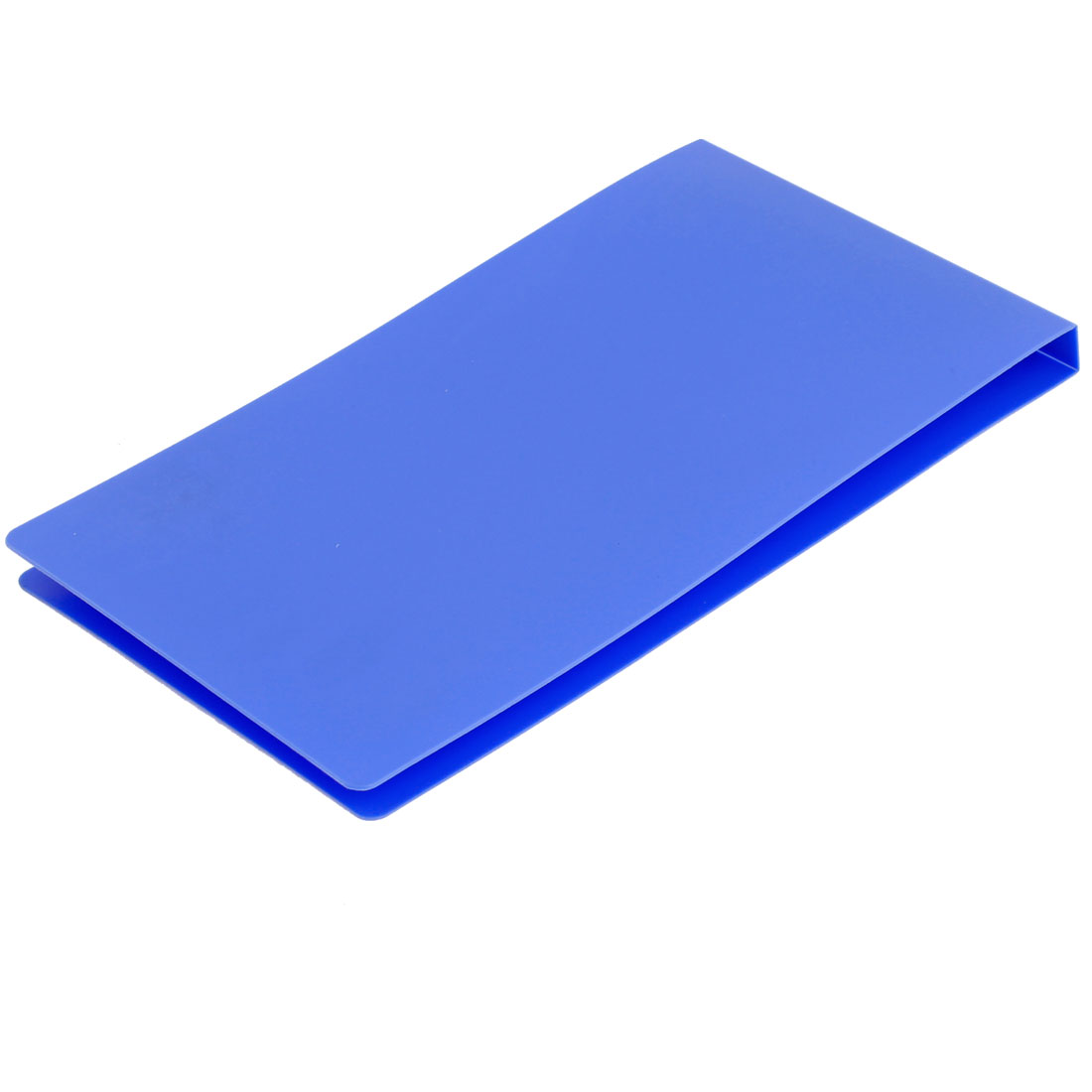 Office School Plastic Cover A5 Paper Document Invoice Bill Folder Blue