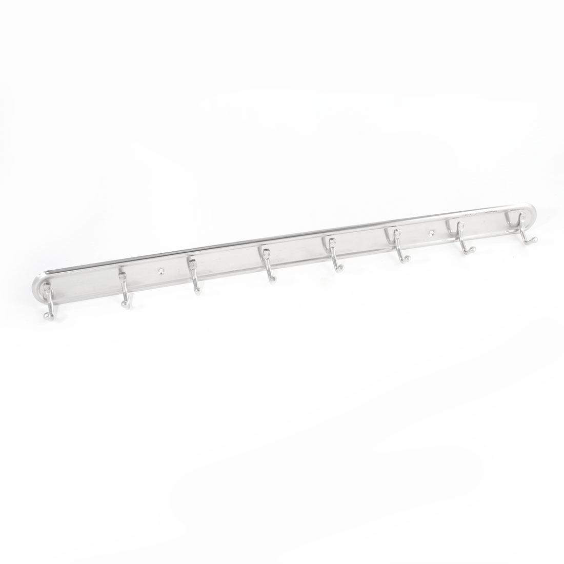 Wall Mounted Stainless Steel 8 Hooks Home Batnroom Towel Hanger Rack