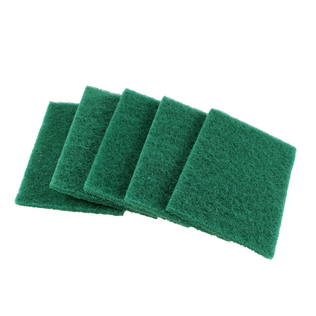 5 Pcs Dark Green Sponge Water Absorbing Cleaning Block