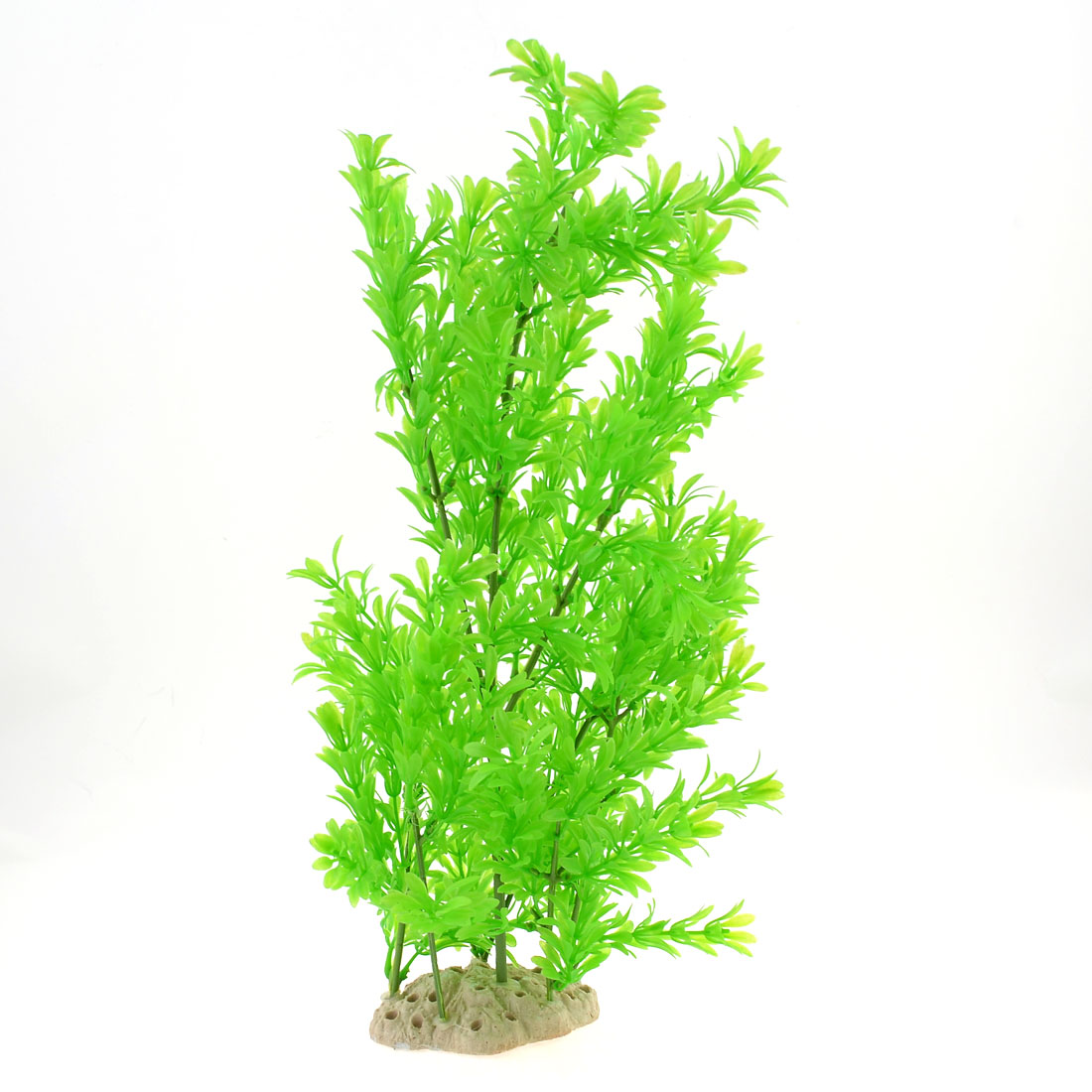 Aquarium Ceramic Base 50cm Height Manmade Plant Grass Green