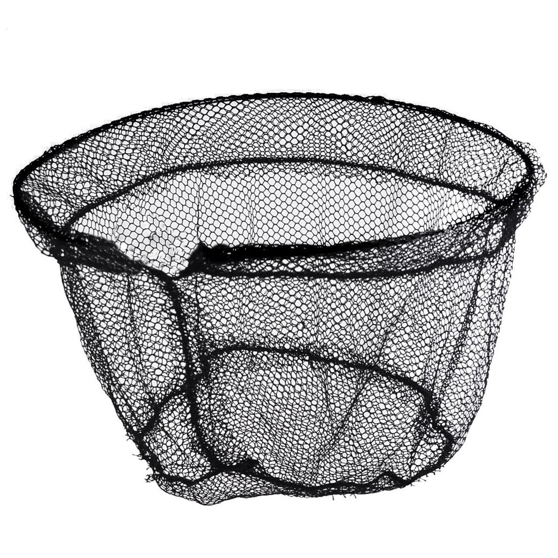 Foldable 50cm Mouth Dia Fish Crawfish Crab Fishing Landing Net Head