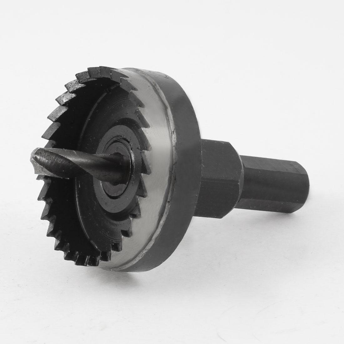12mm Triangle Shank Twist Drill Bit HSS Hole Saw 42mm Diameter