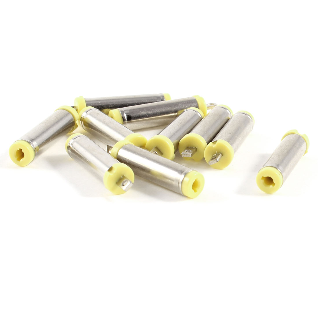 10 Pcs 4.8mm x 1.7mm x 22mm Soldering Male DC Power Jack Connector